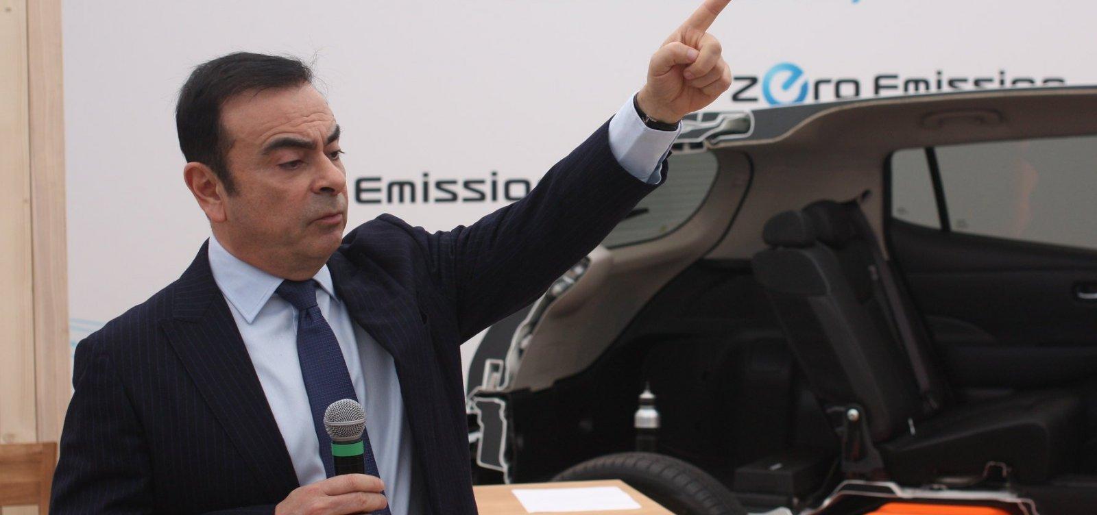[Ghosn é destituído da direção da Nissan]