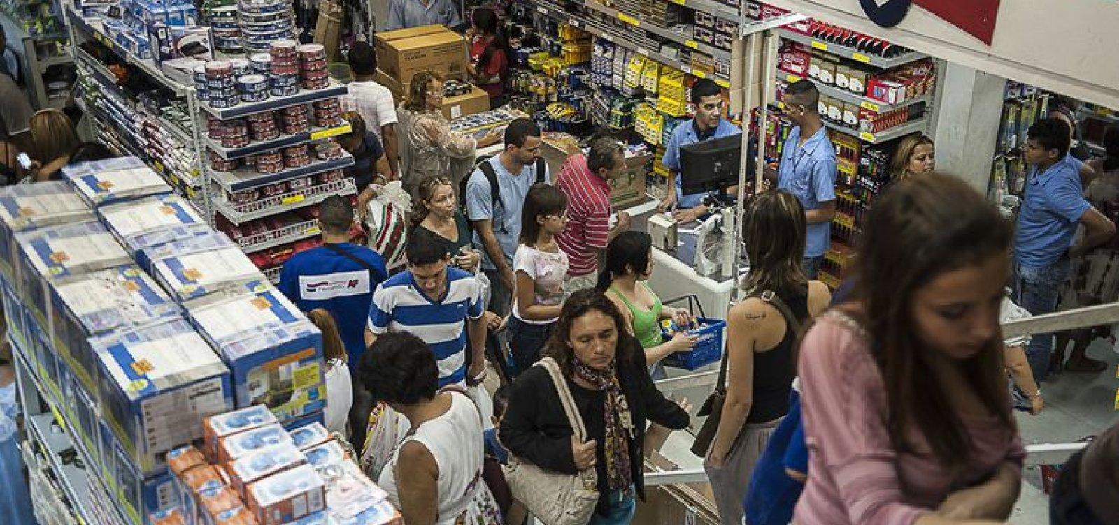 [Mercado reduz projeção de crescimento da economia pela 6ª vez]