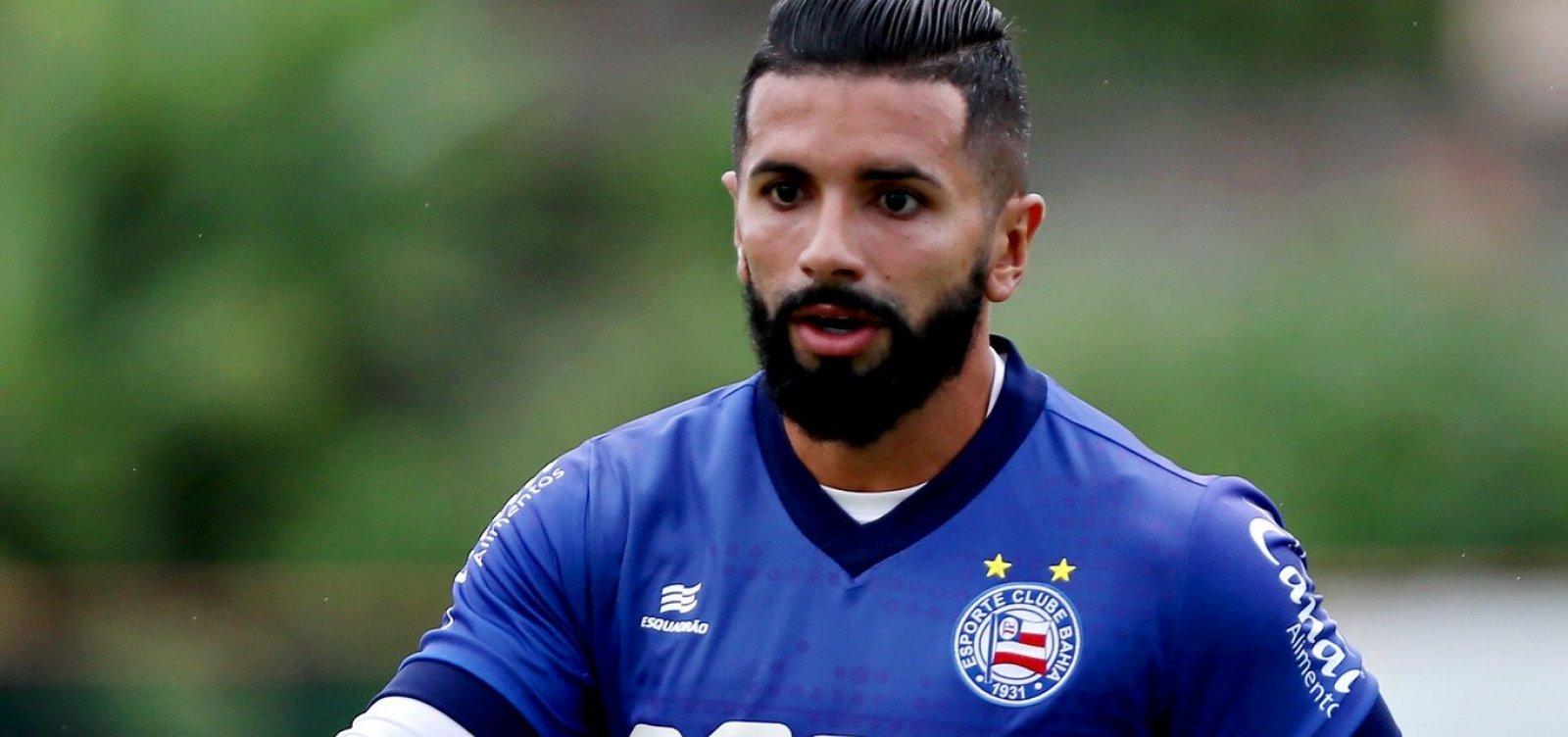 [Após 'veto', Guilherme pode ganhar nova chance no Bahia]