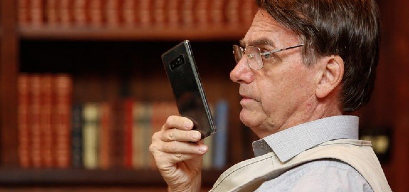 [Aprovação a Bolsonaro chega a 62% entre seguidores de rede social]