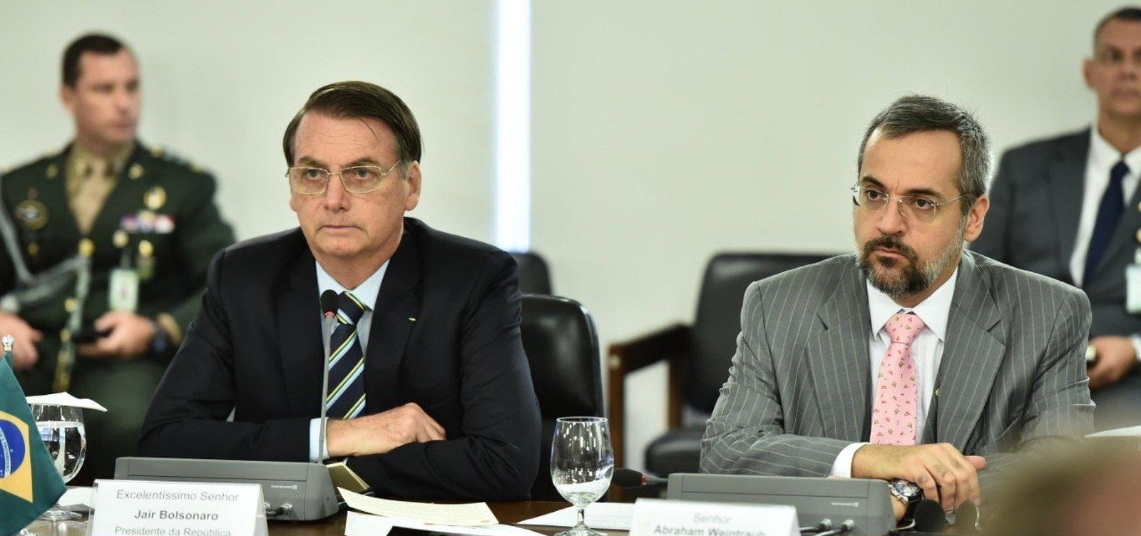 [Novo ministro da Educação toma posse e participa de primeira reunião ministerial ]