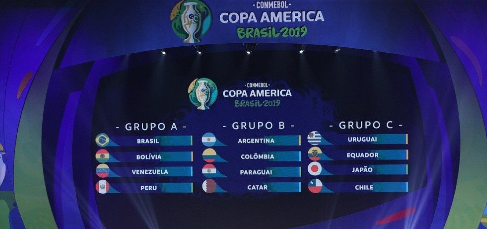 [Argentina e Colômbia serão as sedes da Copa América 2020]