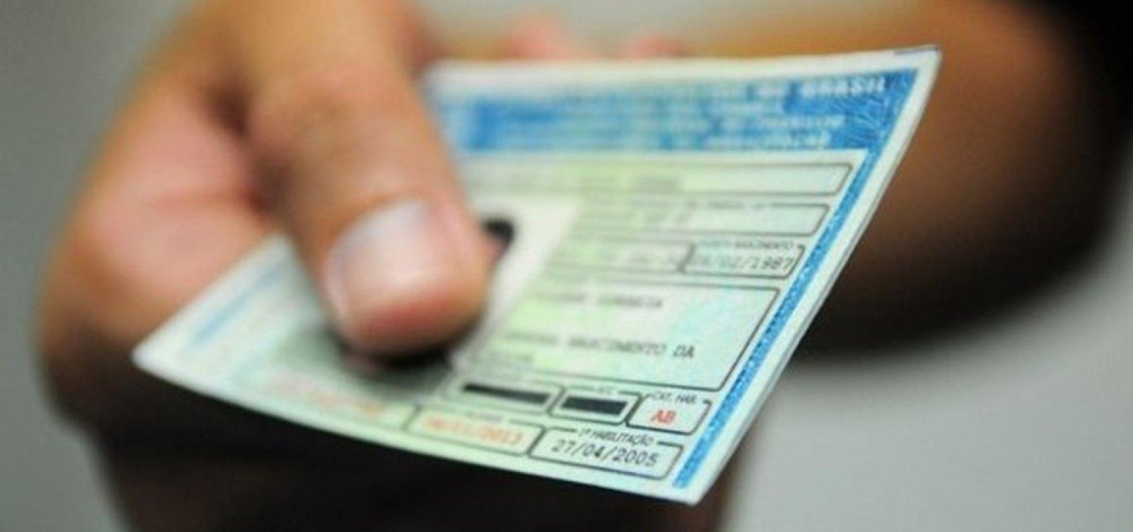 [Governo quer dobrar limite para suspensão da CNH, diz ministro]