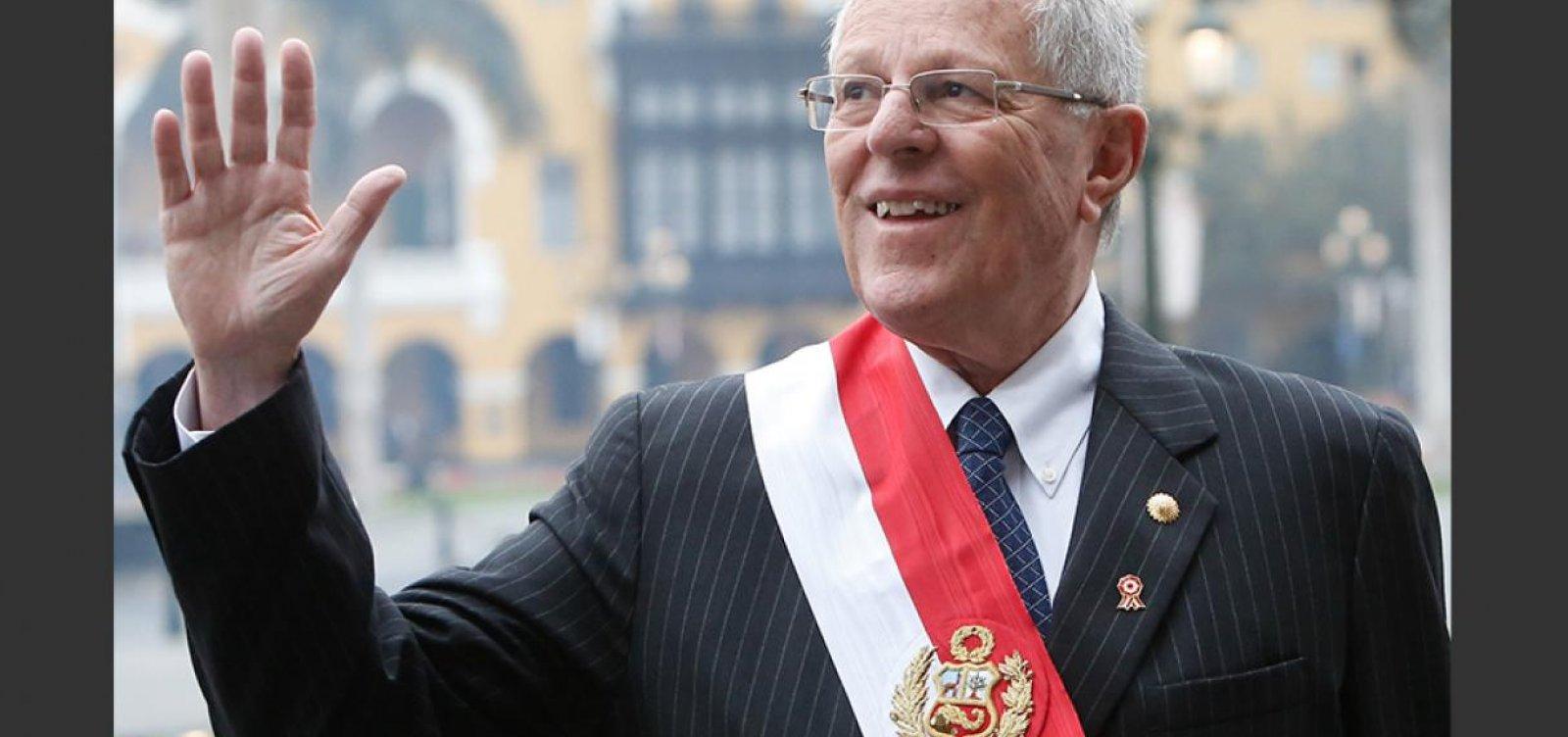 [Justiça do Peru manda prender 'PPK']