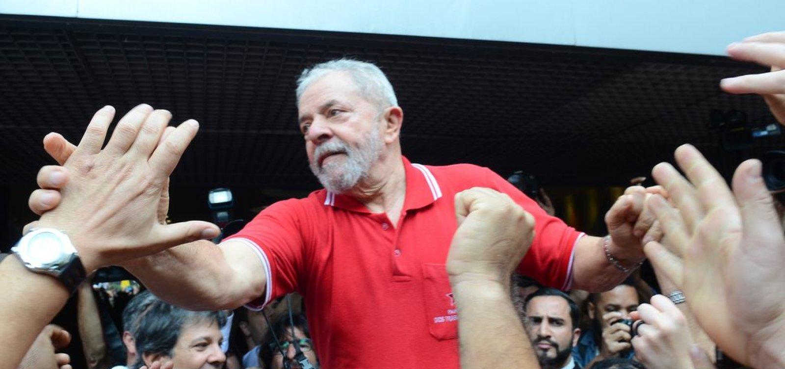 [MPF pede aumento da pena de Lula no caso do sítio de Atibaia]