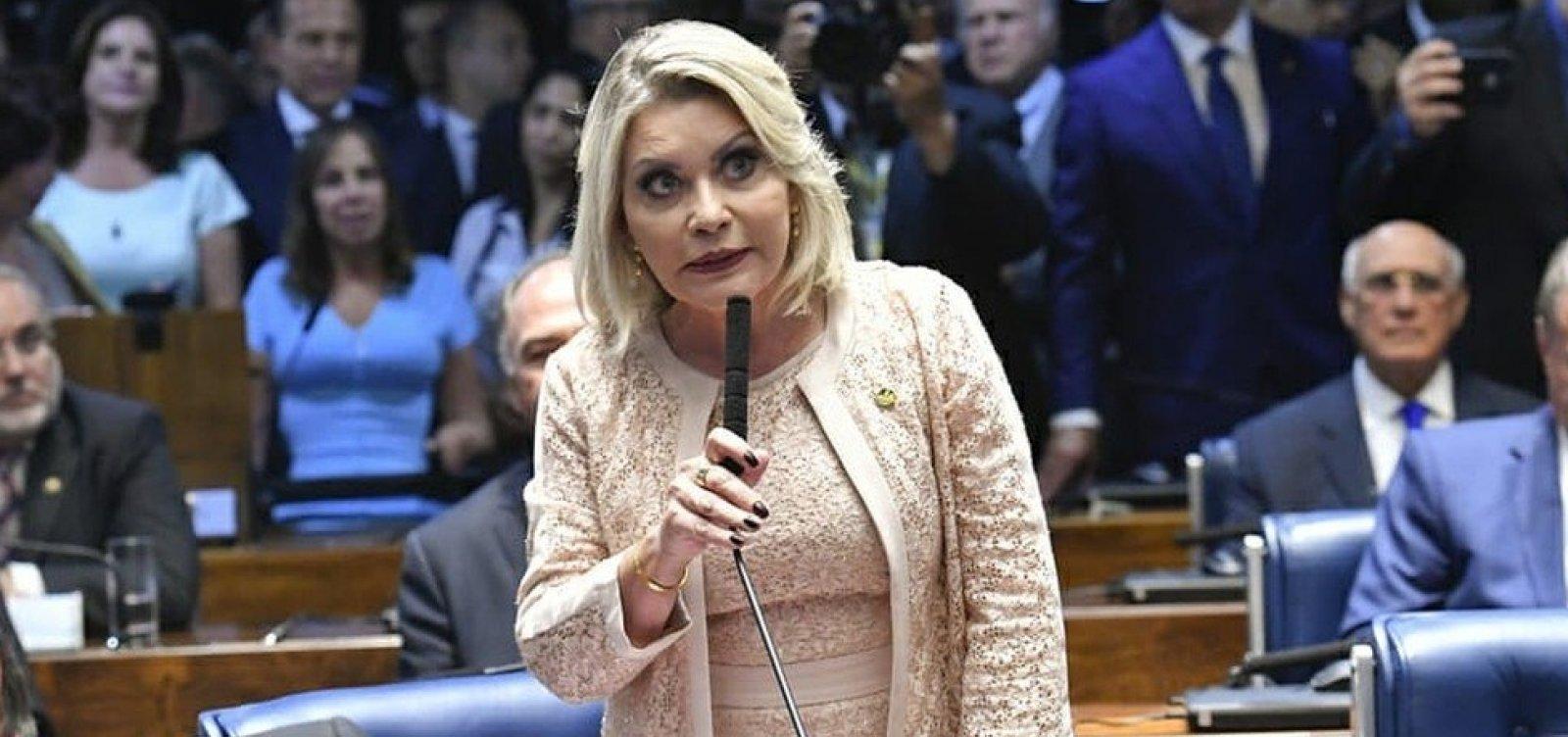 ['Moro de saias', senadora do PSL é cassada]