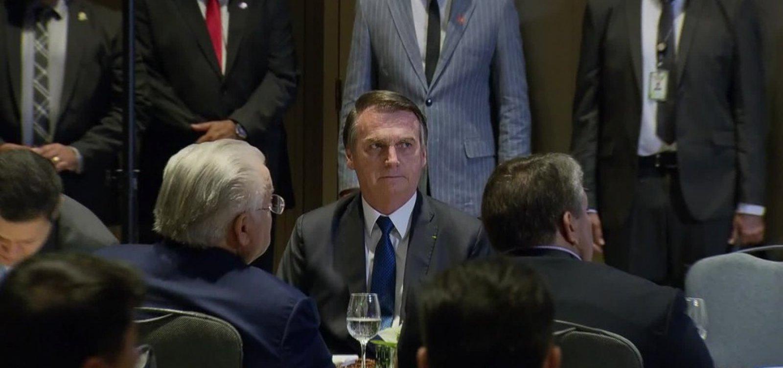 [Bolsonaro se solidariza às vítimas do temporal no Rio: 'Tragédia']