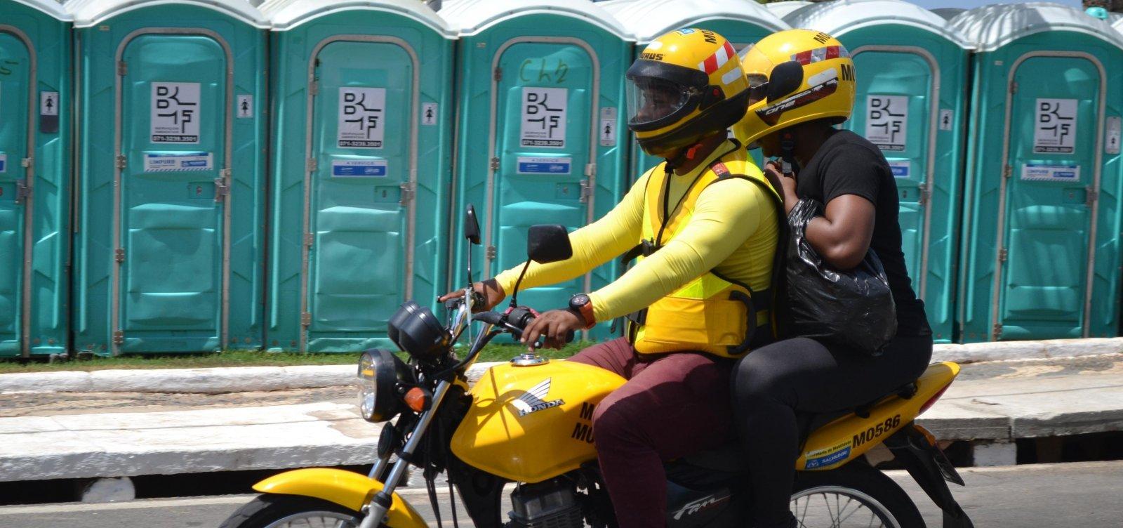 [Prefeitura de Salvador retoma credenciamento para mototaxistas ]