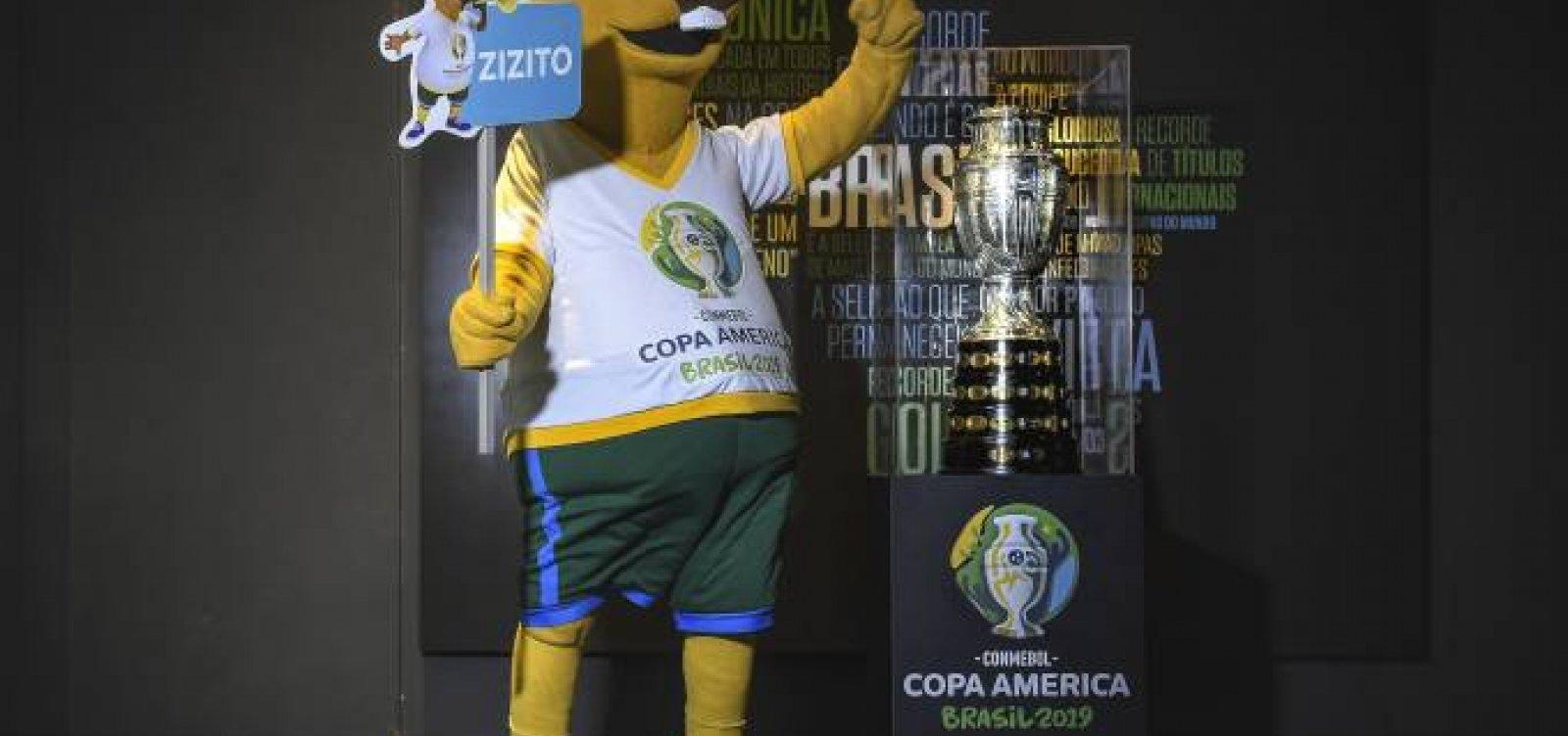 [Copa América: Público escolhe 'Zizito' para nome de mascote ]