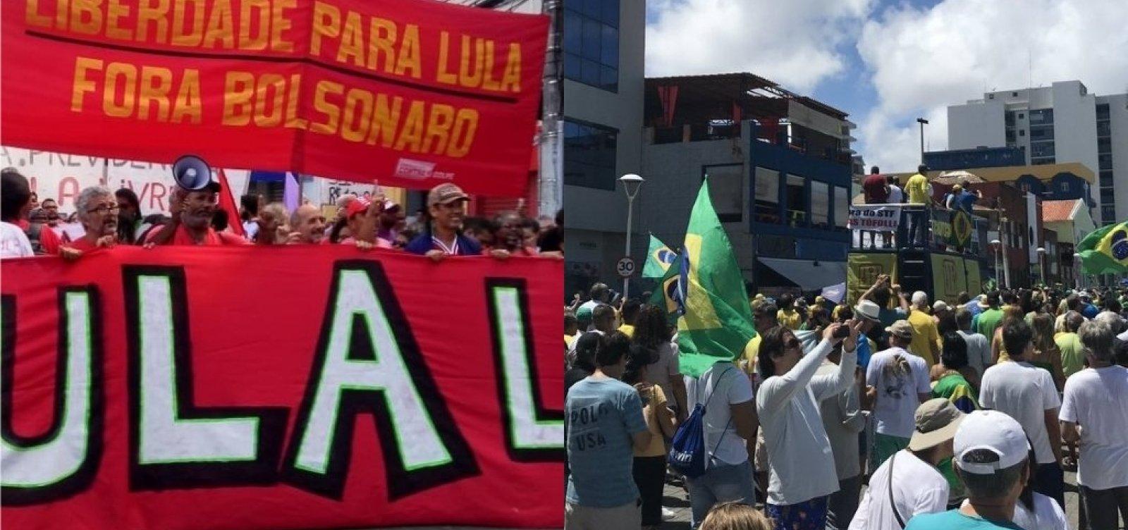 [Radicalismo político no Brasil supera média global, aponta estudo]