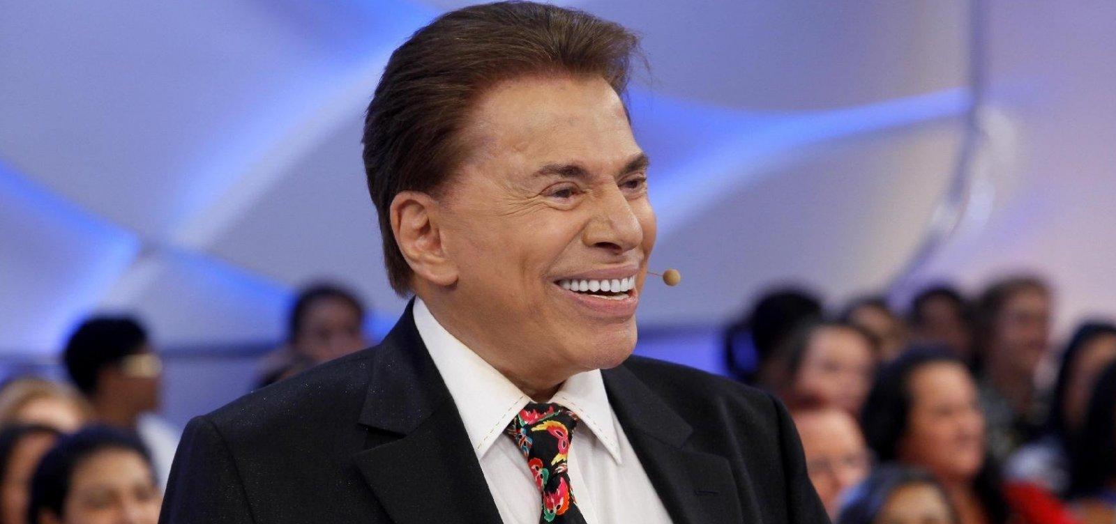 [Silvio Santos comenta suposto salário de R$ 5 milhões de Faustão: 'Mentiroso']