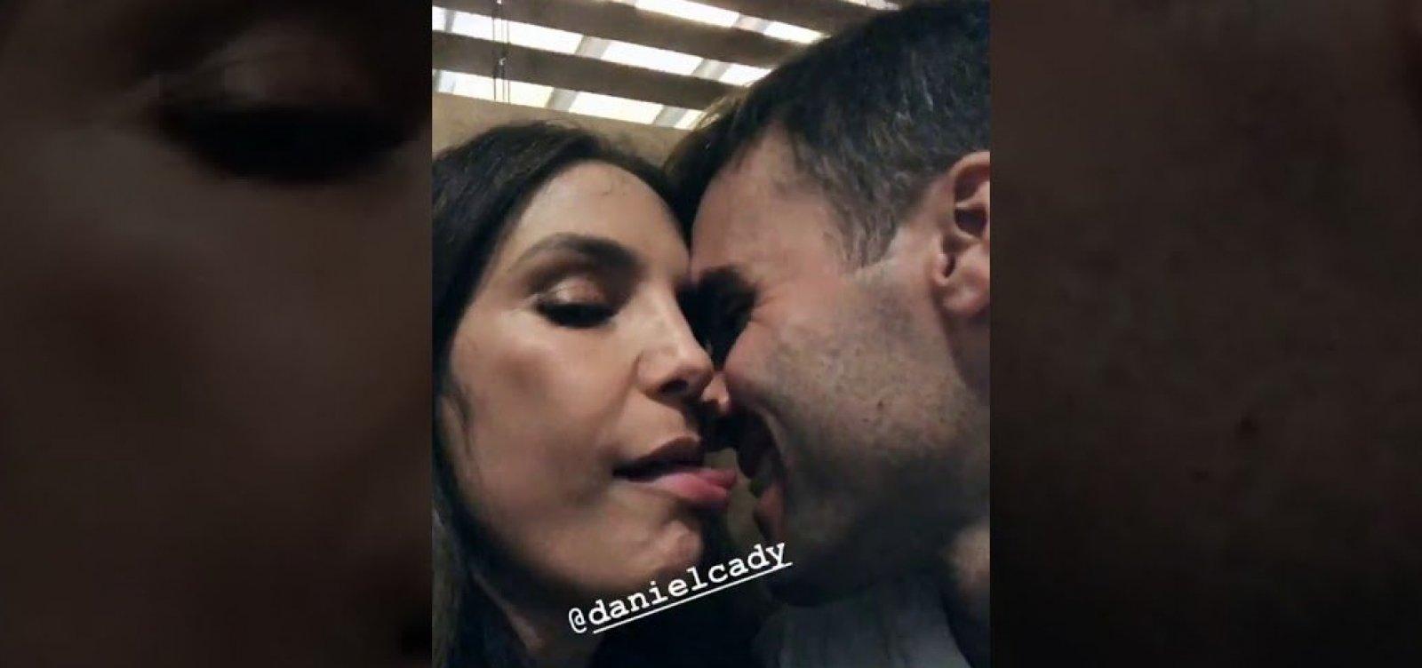 [Ivete comemora Dia do Beijo com o marido: 'Beije muito, muitas vezes, e de novo e mais uma vez']