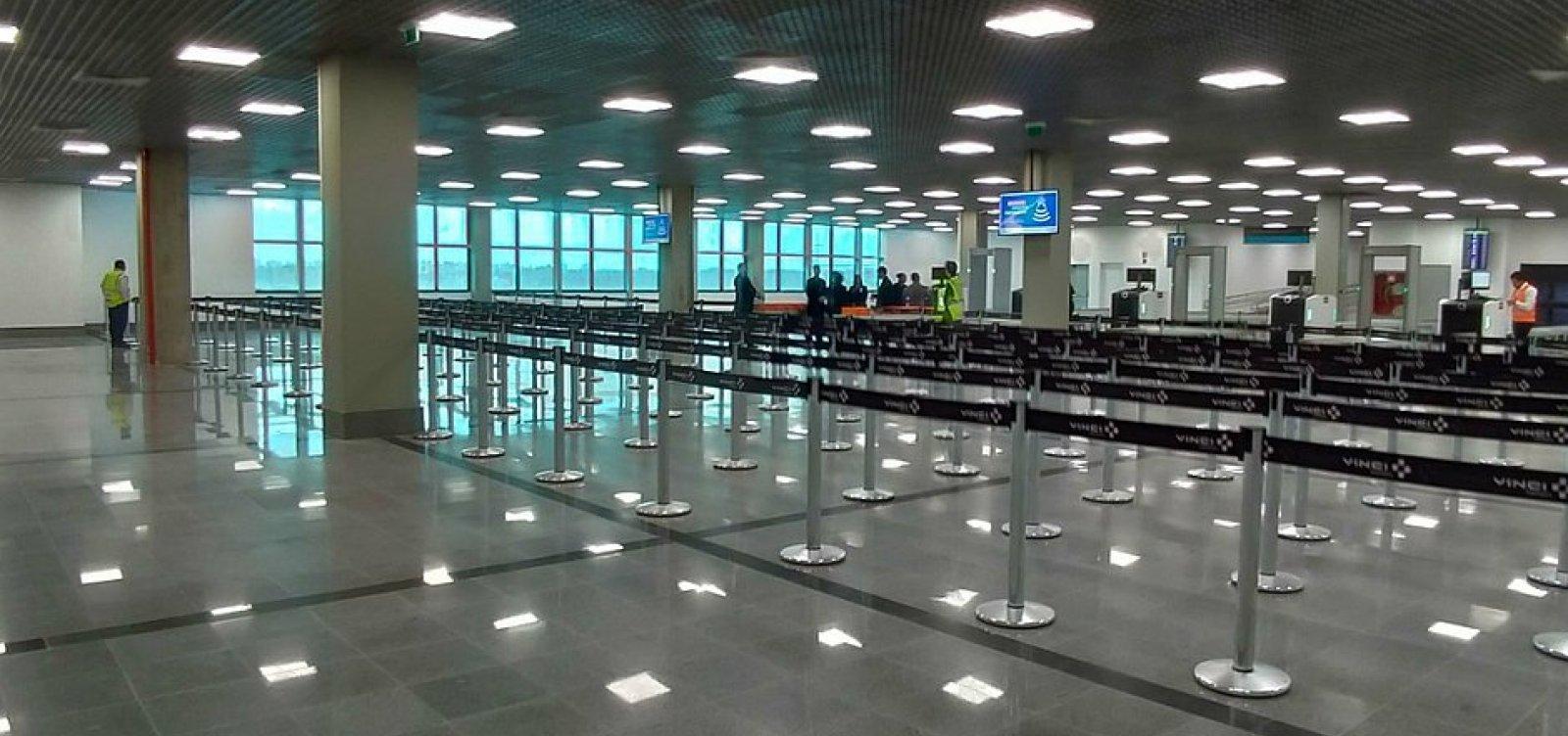 [Nova área de embarque do Aeroporto de Salvador será inaugurada nesta quarta]