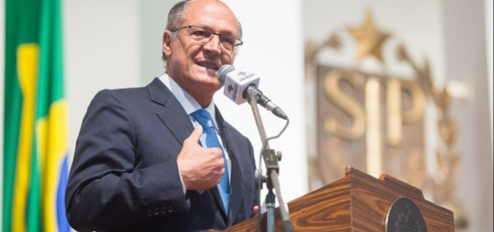 [Justiça bloqueia bens de Alckmin em ação sobre repasses da Odebrecht]