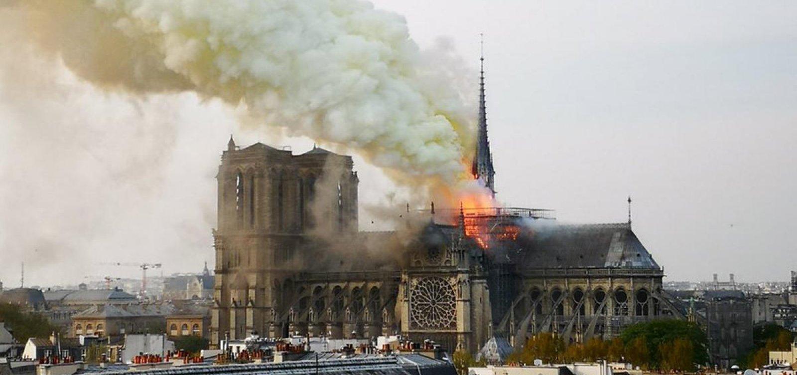 [Procurador acredita que incêndio na Catedral de Notre-Dame foi 'acidente']