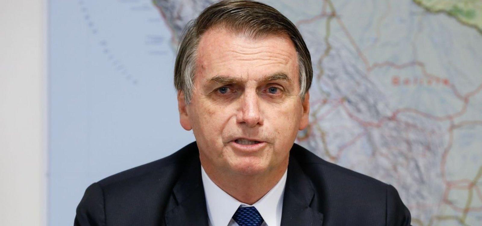 ['Sempre serei favorável à liberdade de expressão', diz Bolsonaro em meio a críticas ao STF]