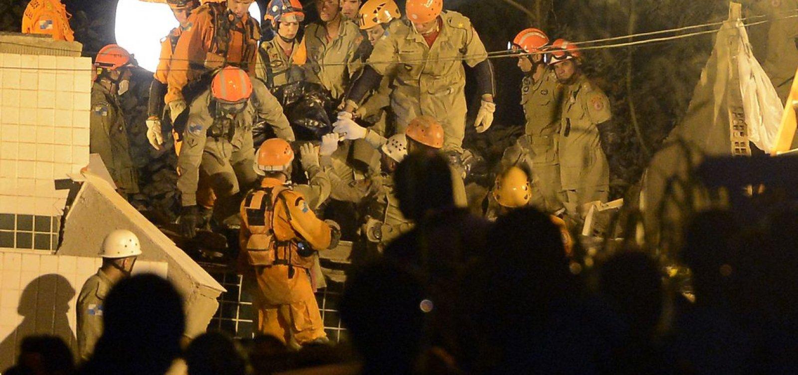 [Prefeitura vai demolir prédios na Muzema quando resgate acabar]