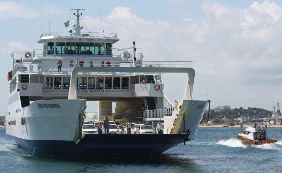 [Ferry-Boat: travessia de ônibus e caminhões fica suspensa na Semana Santa]