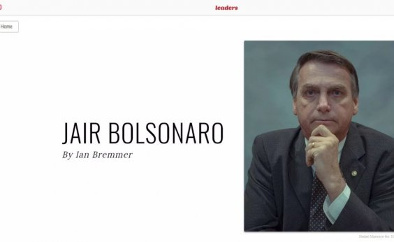 [Bolsonaro aparece na lista dos '100 mais influentes' da revista Time]