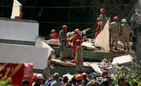 [Número de mortos no desabamento no Rio sobre para 18]