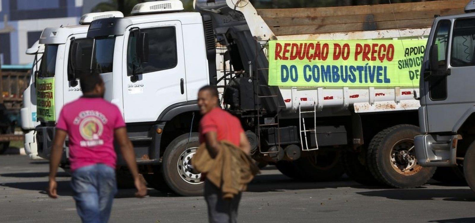 [Governo decide aumentar preço do diesel; caminhoneiros ameaçam greve]