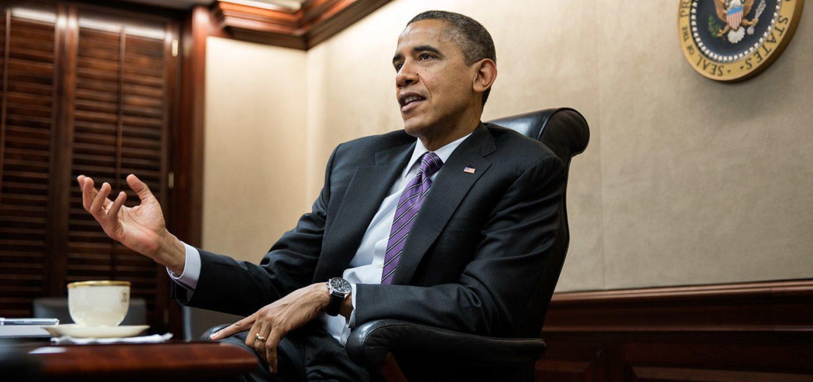 [Obama revela desejo de conhecer a Bahia]