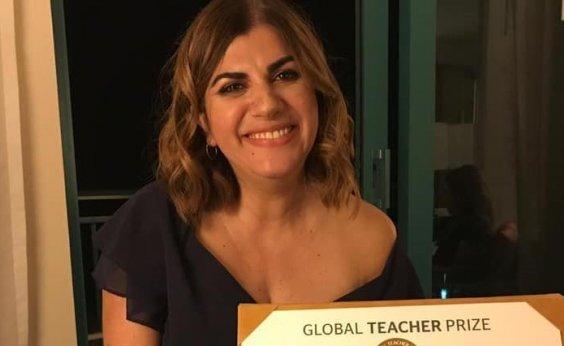 [Classificada para Nobel da Educação, brasileira conta como criou projeto que tirou mais de 1t de lixo das ruas]