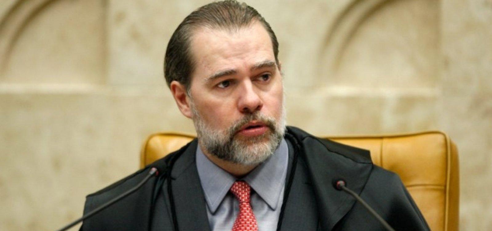 [Toffoli nega censura e acusa sites de orquestrarem ação antes de STF julgar prisão em 2ª instância]