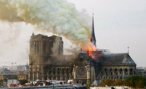 [Promotores iniciam investigação sobre causas do incêndio em Notre-Dame]