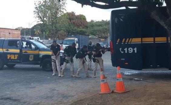 [PRF realiza operação para combater crime organizado nas rodovias baianas]