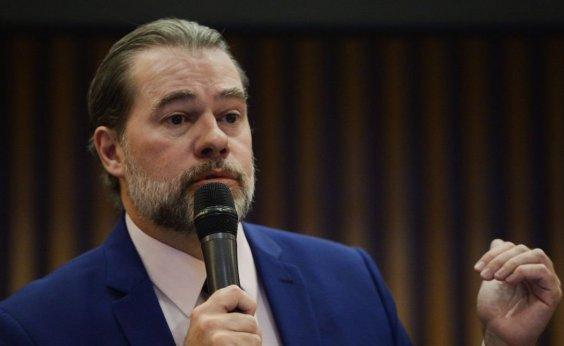 ['Não houve mordaça nem censura', diz Dias Toffoli]