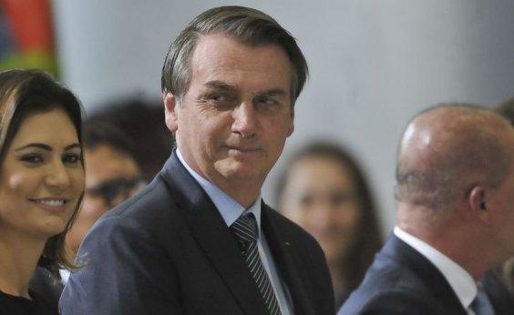 [Bolsonaro divulga calculadora da Previdência no Twitter]