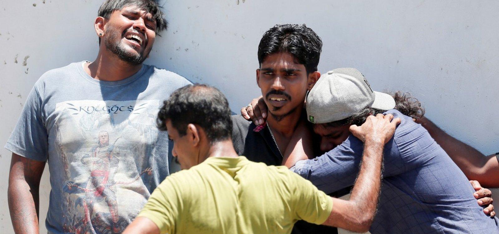 [Explosões em hotéis de luxo e igrejas católicas deixam mortos e feridos no Sri Lanka]