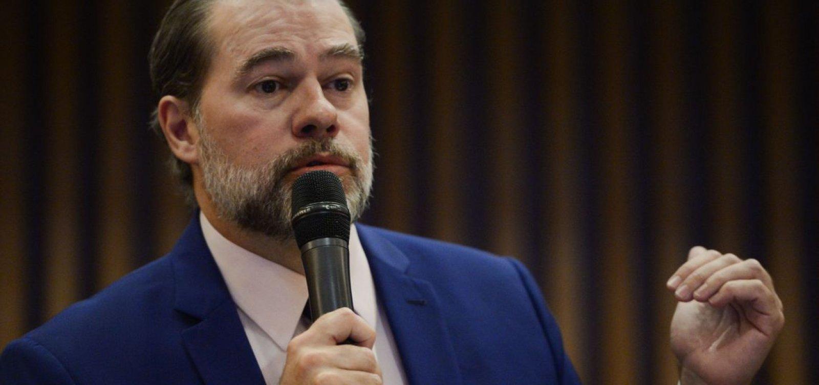 ['Afronta à Constituição e ao sistema penal', diz ex-procurador-geral da República sobre inquérito de Toffoli]
