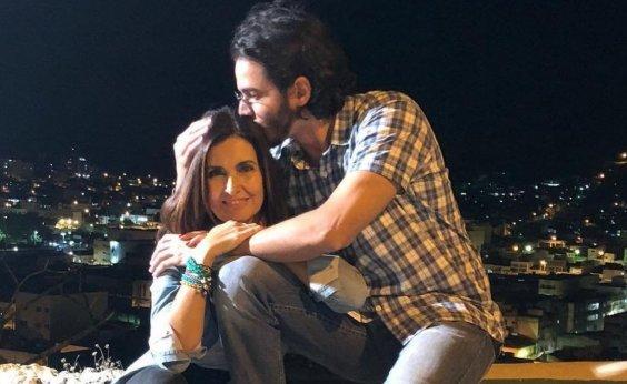 [Fátima Bernardes revela que tem senha do celular do namorado: 'Qual o problema?']