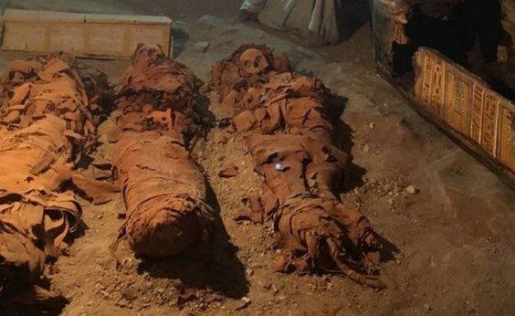 [Tumba com 35 múmias é encontrada no Egito]