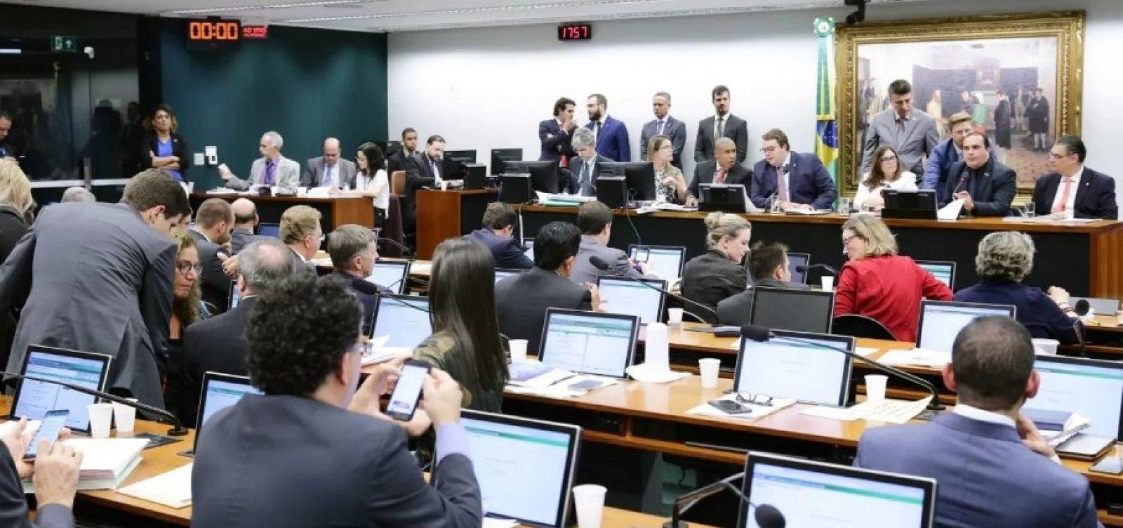 [CCJ da Câmara dá aval à reforma da Previdência após quase 9h de sessão]