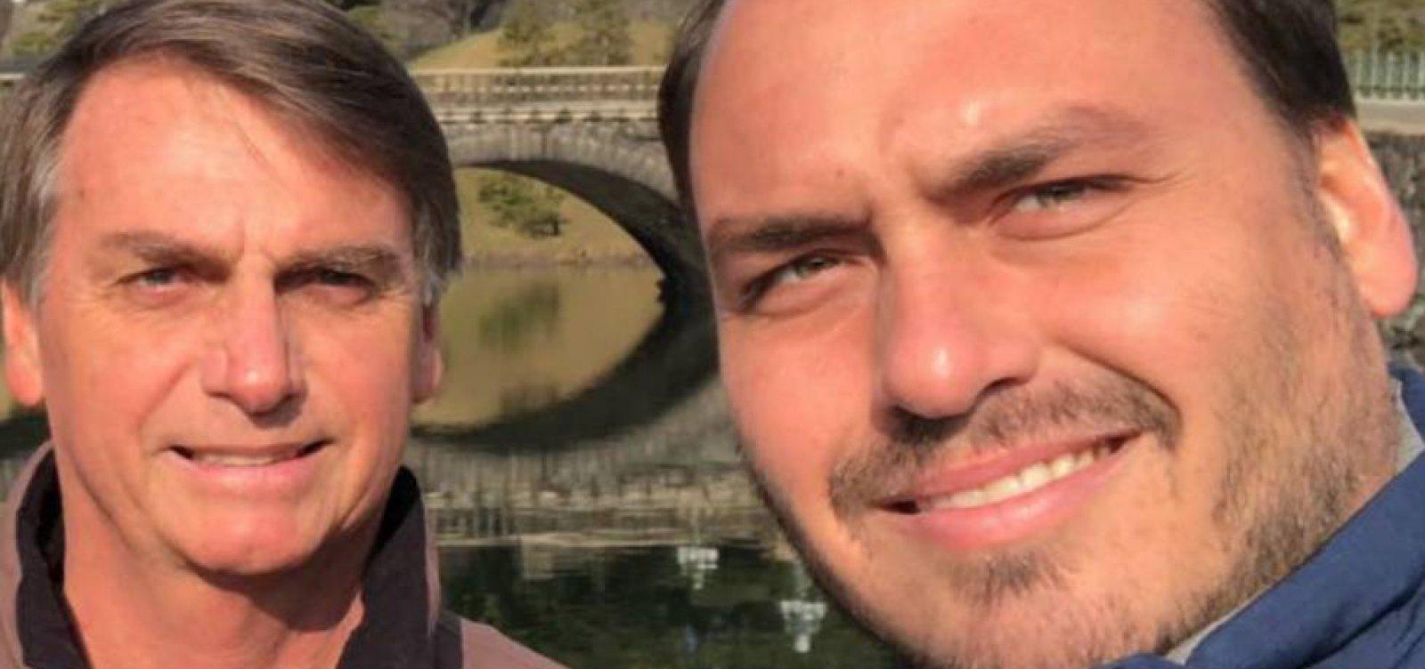 [Bolsonaro quer colocar 'ponto final' no atrito entre filho e Mourão; Carlos volta a postar crítica a vice]