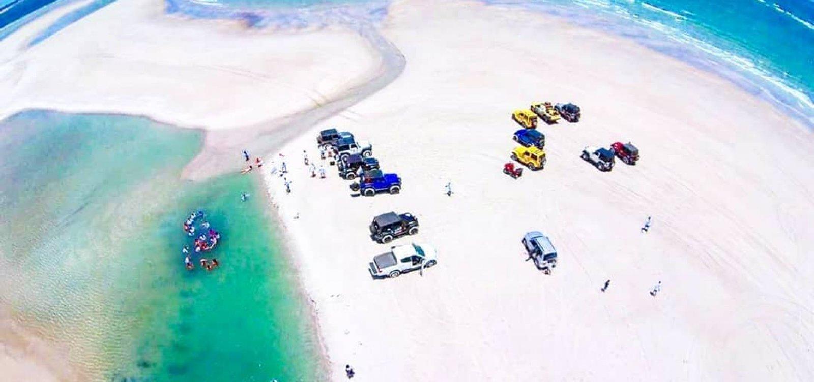 [Um cantinha a ser descoberto: Praia dos Garcez, em Jaguaripe, tem praia e rios ]