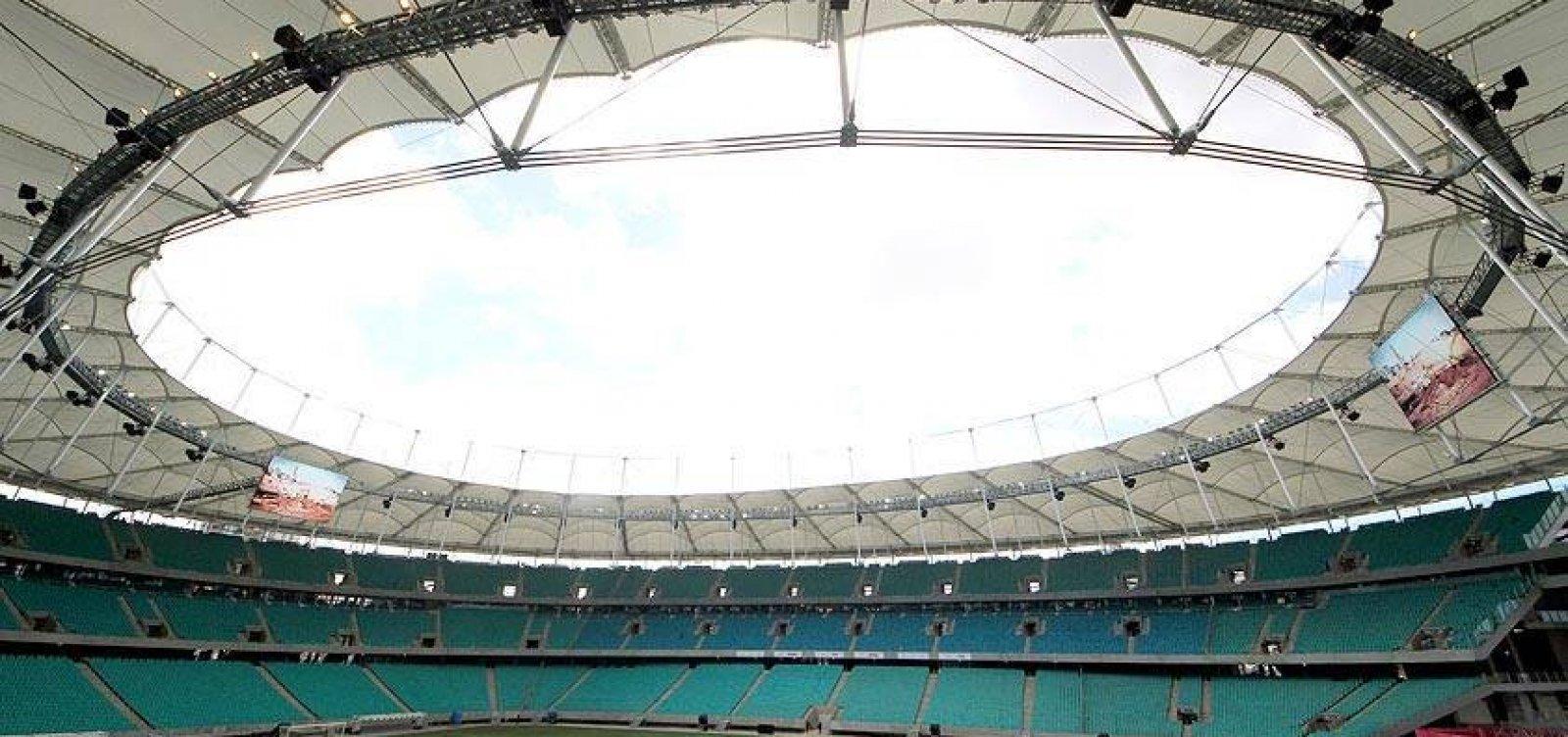 [Tour na Fonte: conheça a nova Arena Fonte Nova e também passei pela história do estádio]