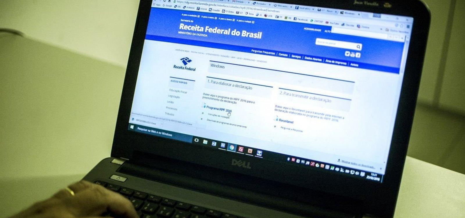 [Mais de 748 mil contribuintes baianos já declararam o Imposto de Renda]