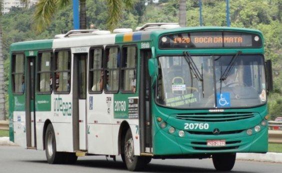 [Após atraso, ônibus começam a sair das garagens em Salvador]