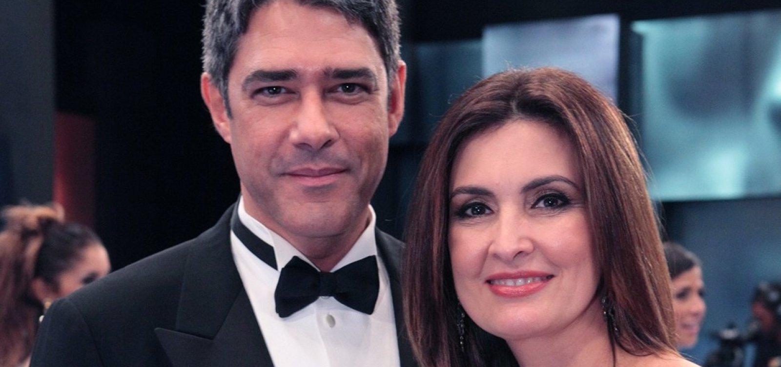 [Entrevistado pergunta se Bonner é marido de Fátima Bernardes: 'Meio desatualizado', brinca ela]