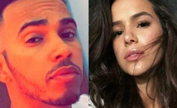 [Bruna Marquezine desmente revista que inventou romance com Lewis Hamilton: 'Estão é doidas']