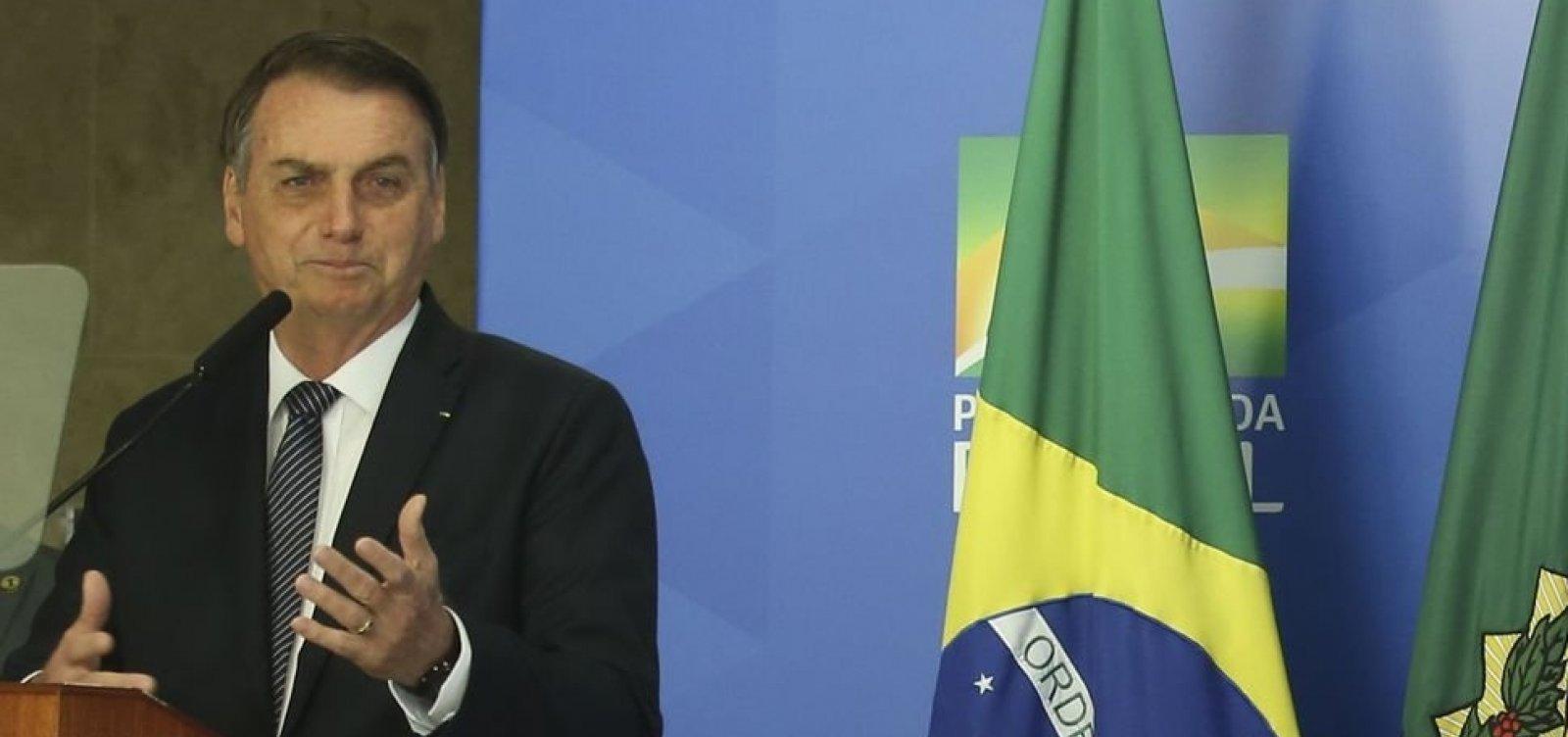 [Economia com reforma tem de ser ao menos de R$800 bi, diz Bolsonaro]