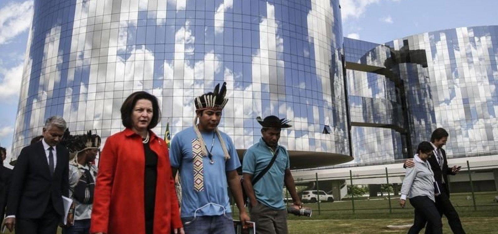 [PGR trabalhará para demarcação de terras indígenas]