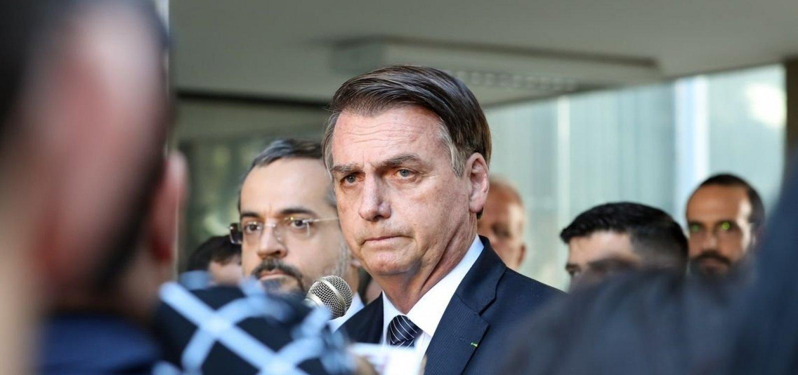 [Bolsonaro proíbe uso de palavras do universo LGBT em campanhas estatais]