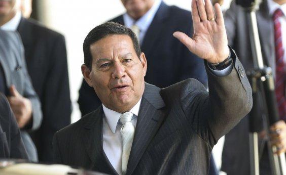 """[""""Se Bolsonaro não me quer, é só me dizer', diz Mourão a familiares]"""