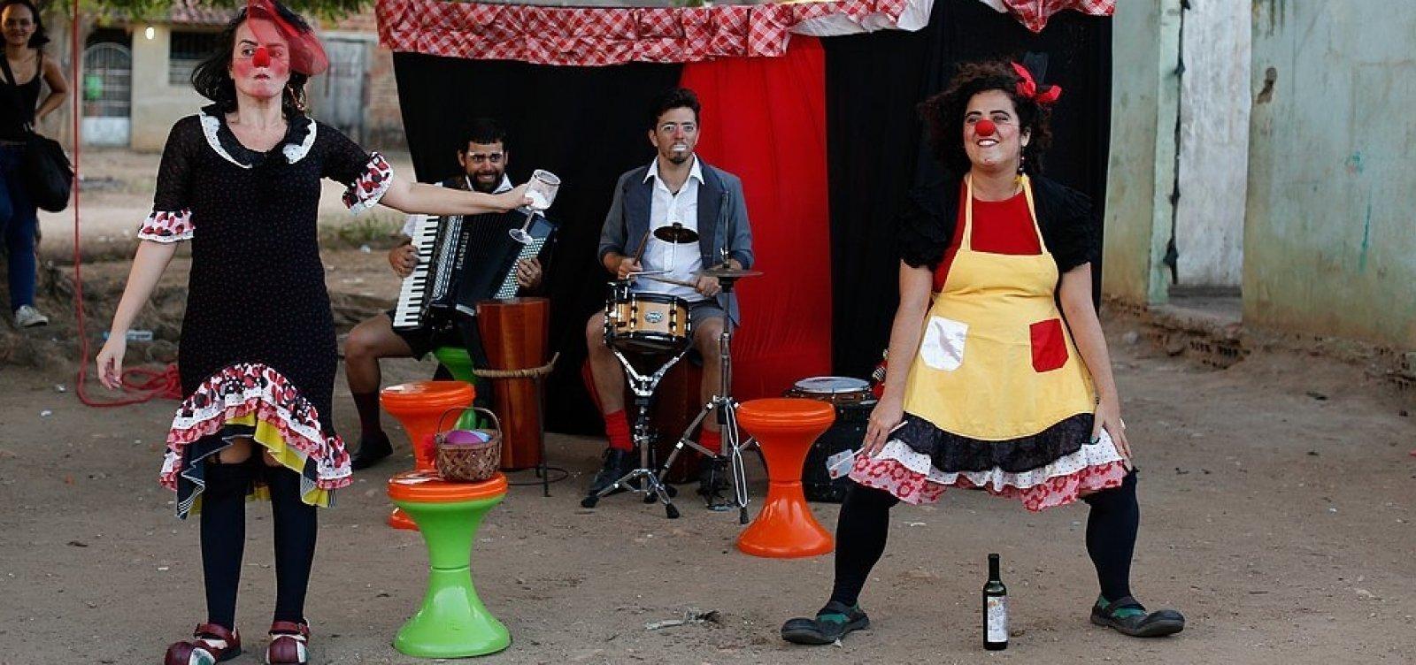[Parque da Cidade conta com apresentações teatrais gratuitas]