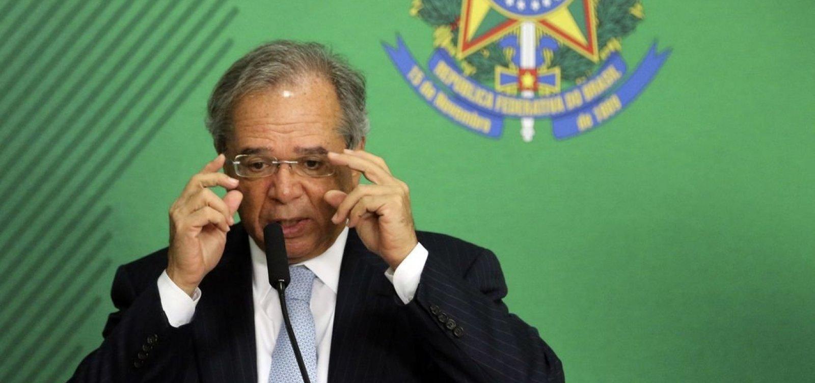 [Guedes diz que governo não cogita privatizar Petrobras]